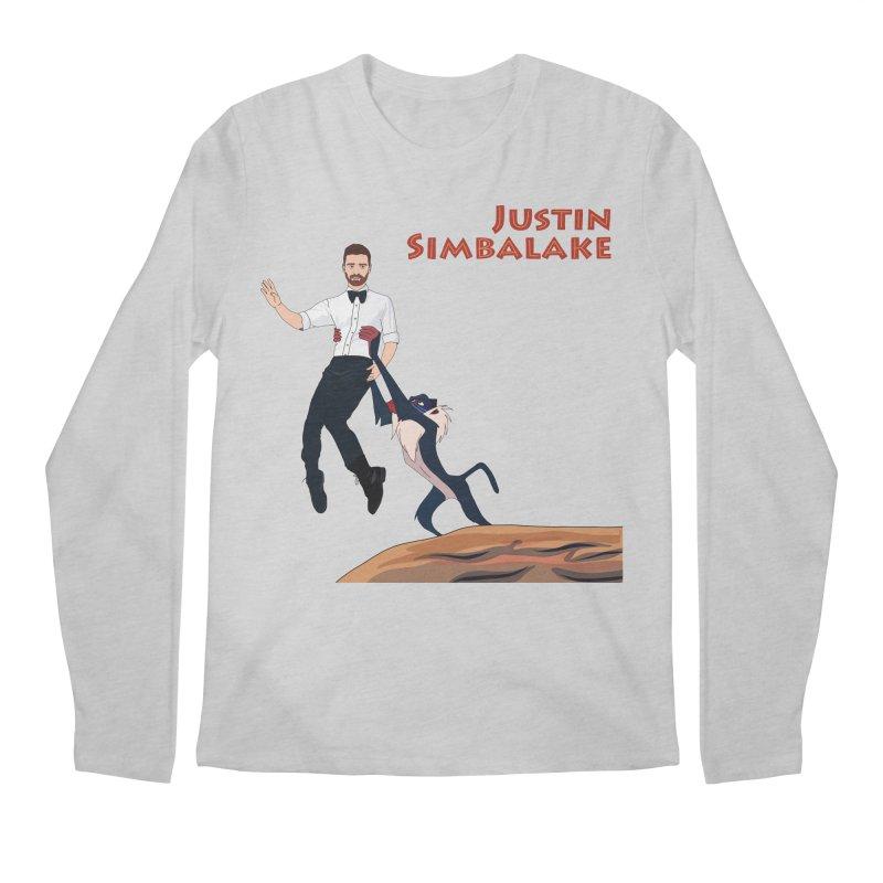 Justin Simbalake Men's Regular Longsleeve T-Shirt by Chloe Langer
