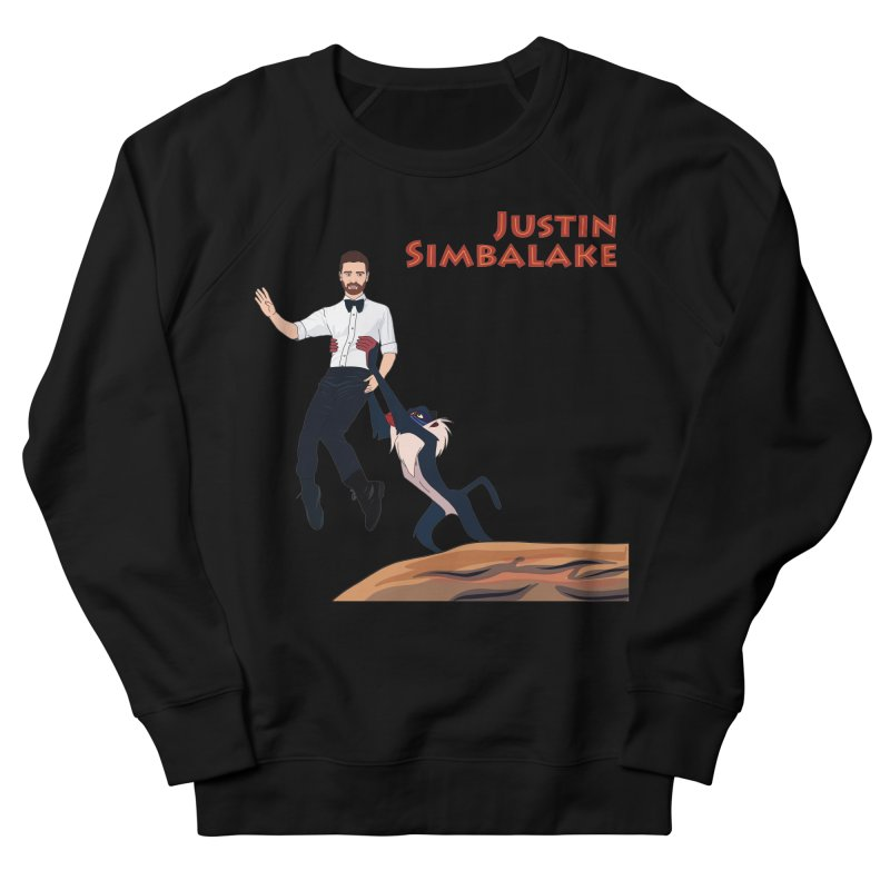 Justin Simbalake Men's French Terry Sweatshirt by Chloe Langer