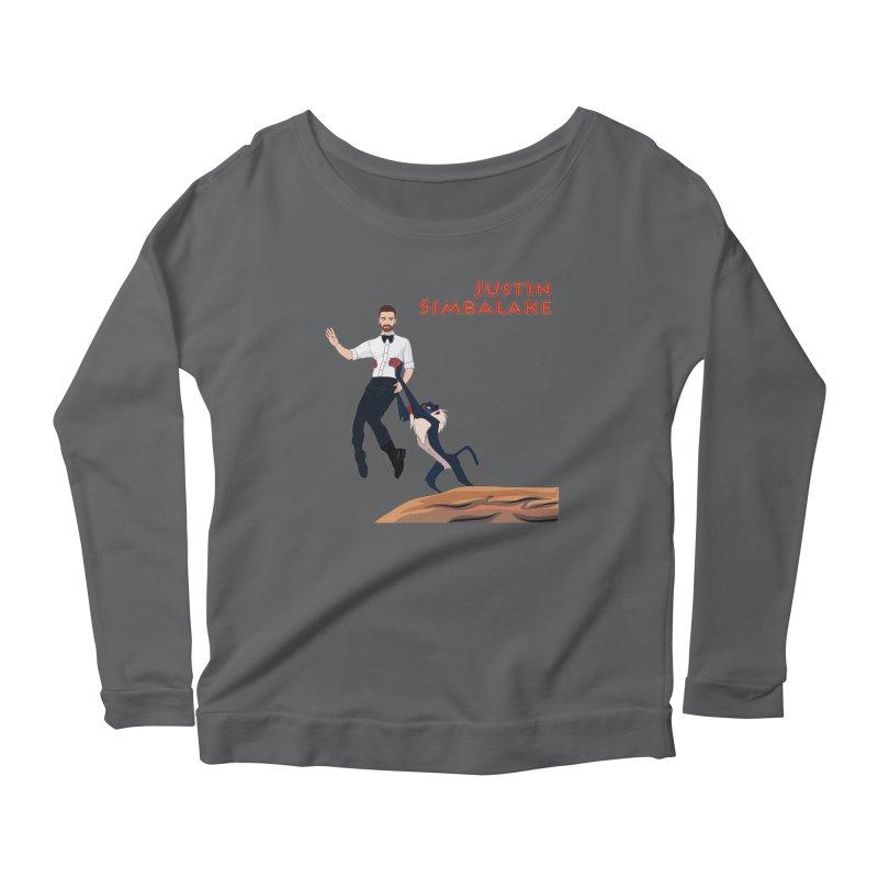 Justin Simbalake Women's Scoop Neck Longsleeve T-Shirt by Chloe Langer