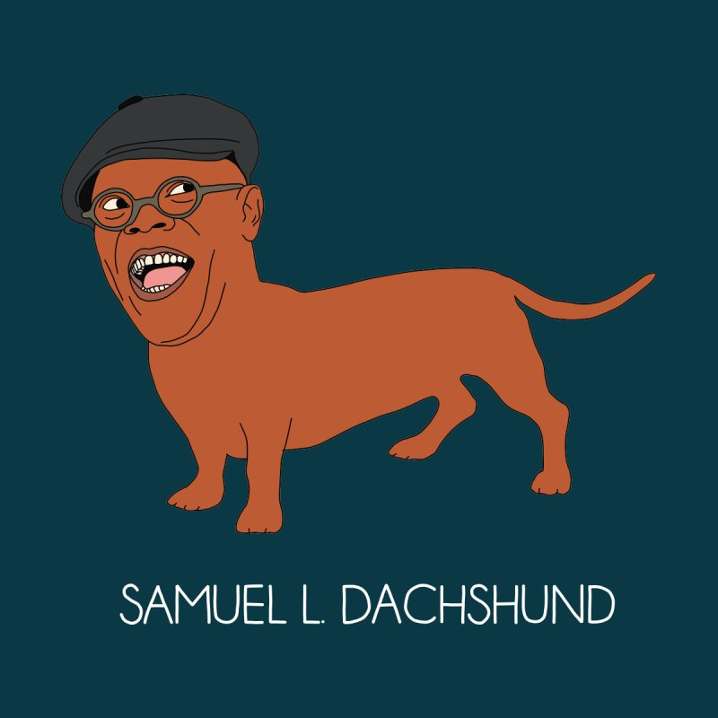 Samuel L. Dachshund by Chloe Langer