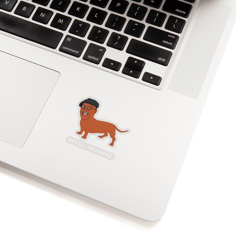 Samuel L. Dachshund Accessories Sticker by Chloe Langer