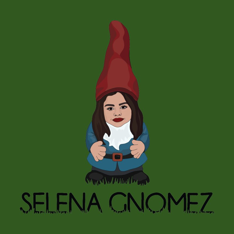 Selena Gnomez Men's T-Shirt by Chloe Langer