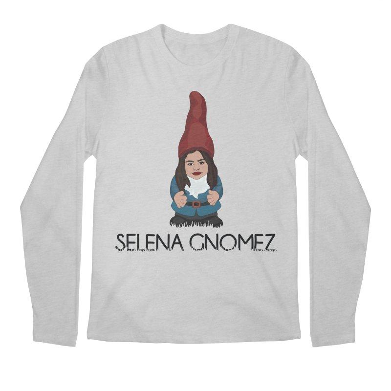 Selena Gnomez Men's Regular Longsleeve T-Shirt by Chloe Langer