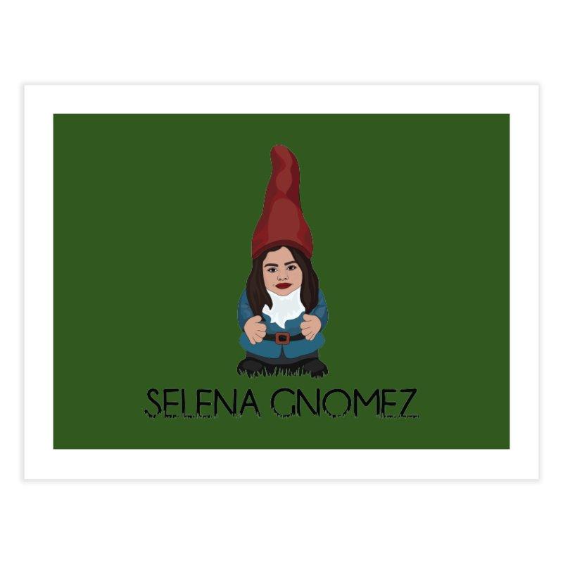 Selena Gnomez Home Fine Art Print by Chloe Langer
