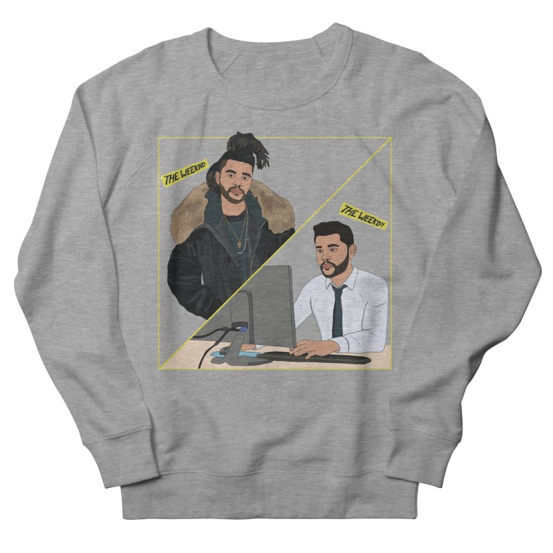 The Weeknd   The Weekdy Women's French Terry Sweatshirt by Chloe Langer