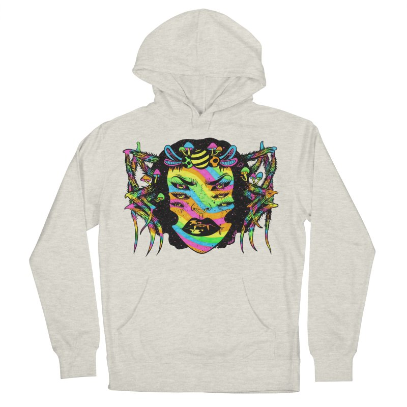 Spider Witch Women's Pullover Hoody by Chloe Lee