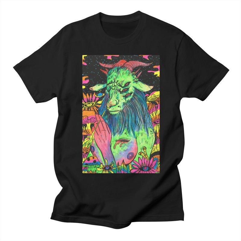Green Demon Women's Unisex T-Shirt by Chloe Lee