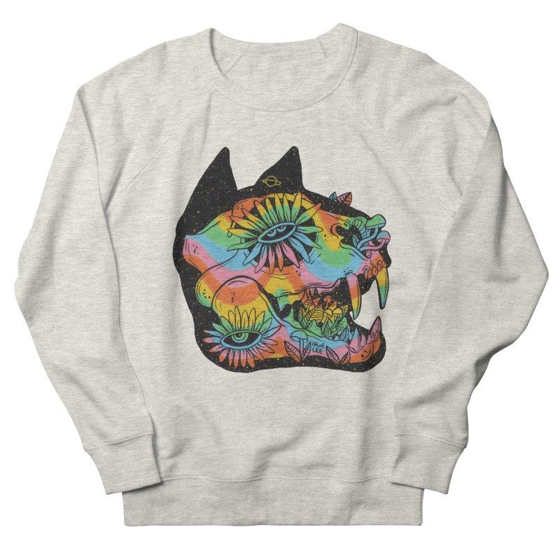 Cat Skull Men's Sweatshirt by Chloe Lee
