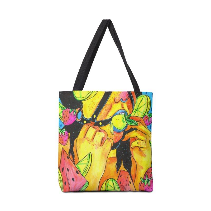 Kinky Lemons in Tote Bag by Chloe Lee