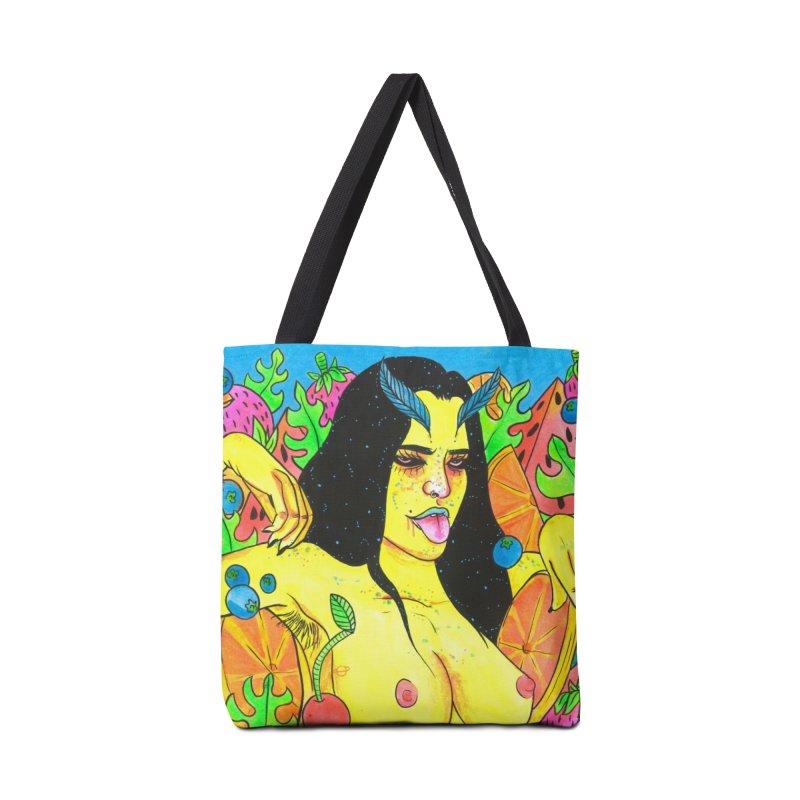 Fruity Tease Accessories Bag by Chloe Lee
