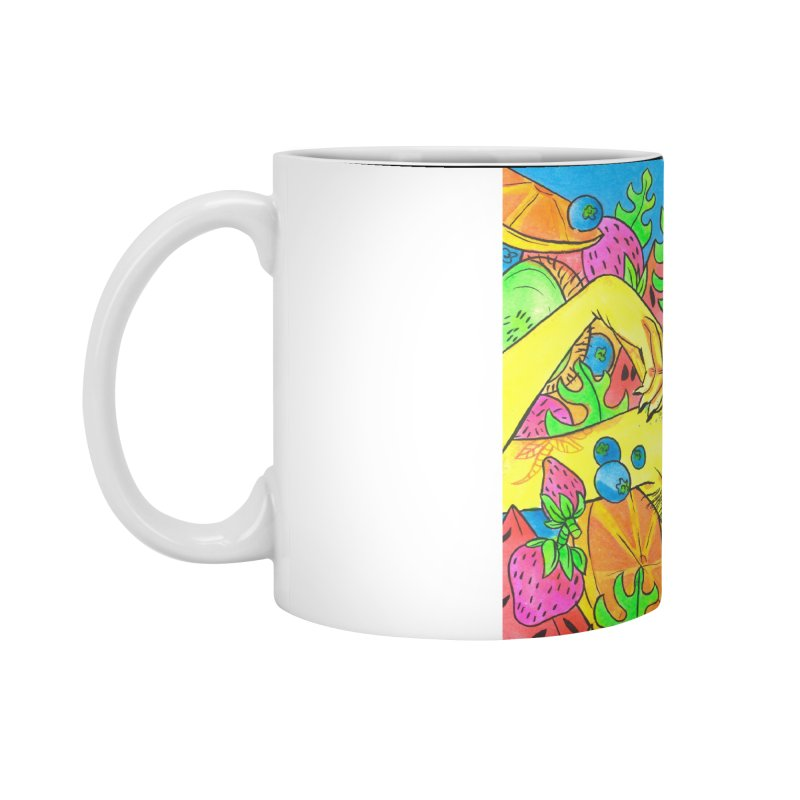 Fruity Tease Accessories Mug by Chloe Lee