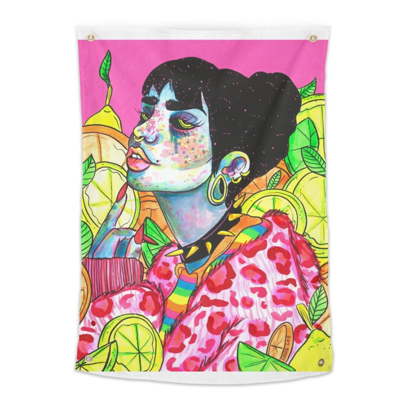 Going Sour Home Tapestry by Chloe Lee