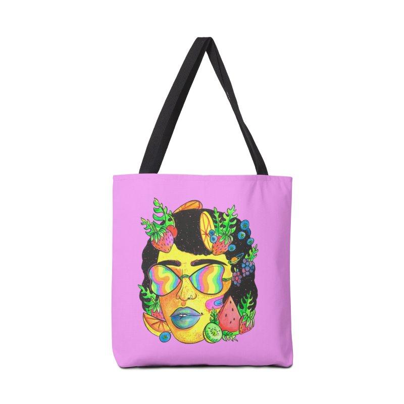 Fruit Head Accessories Bag by Chloe Lee