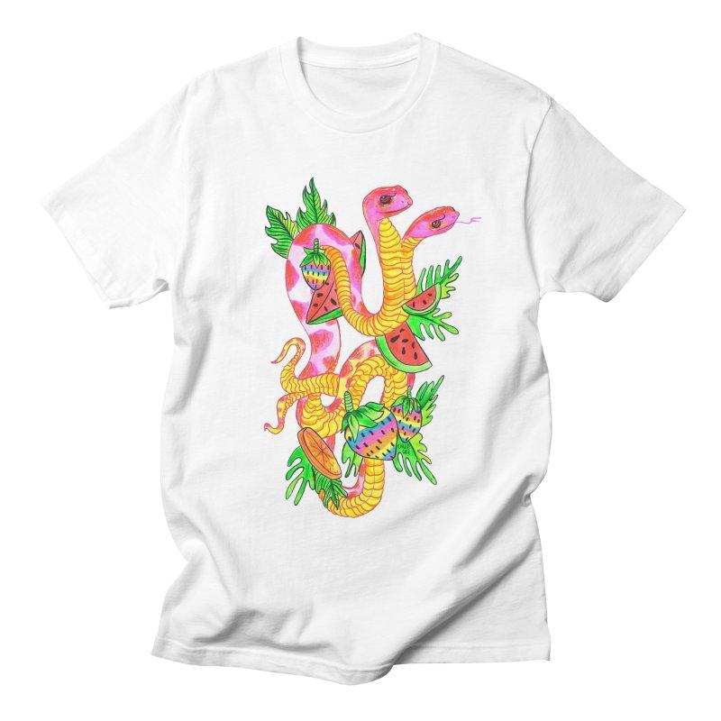 Snake Twins Women's Unisex T-Shirt by Chloe Lee