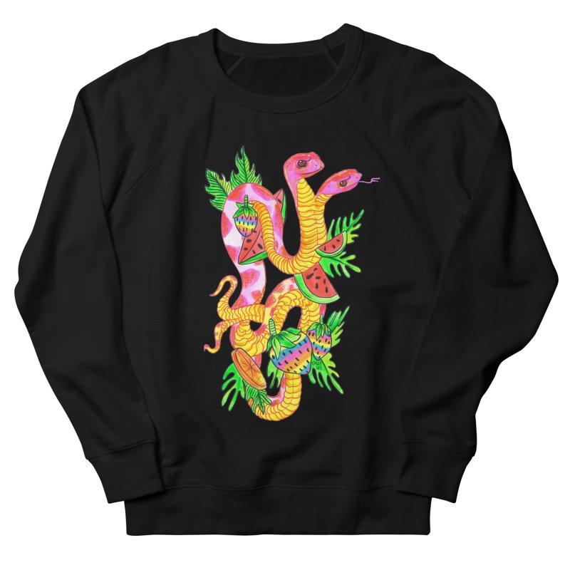 Snake Twins Men's Sweatshirt by Chloe Lee