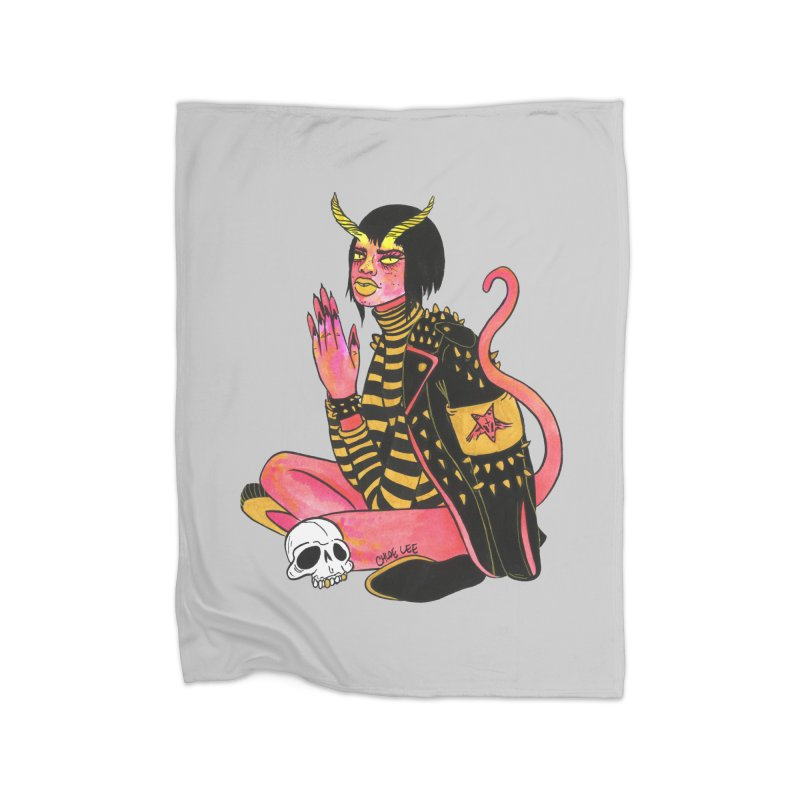 She Devil Home Blanket by Chloe Lee