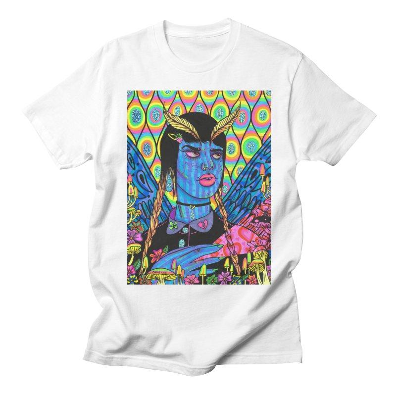 Blue Moth Women's Unisex T-Shirt by Chloe Lee