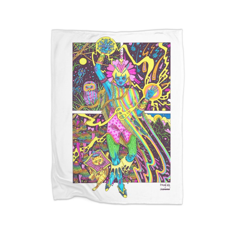 Goddess of Nature COLLAB Home Blanket by Chloe Lee