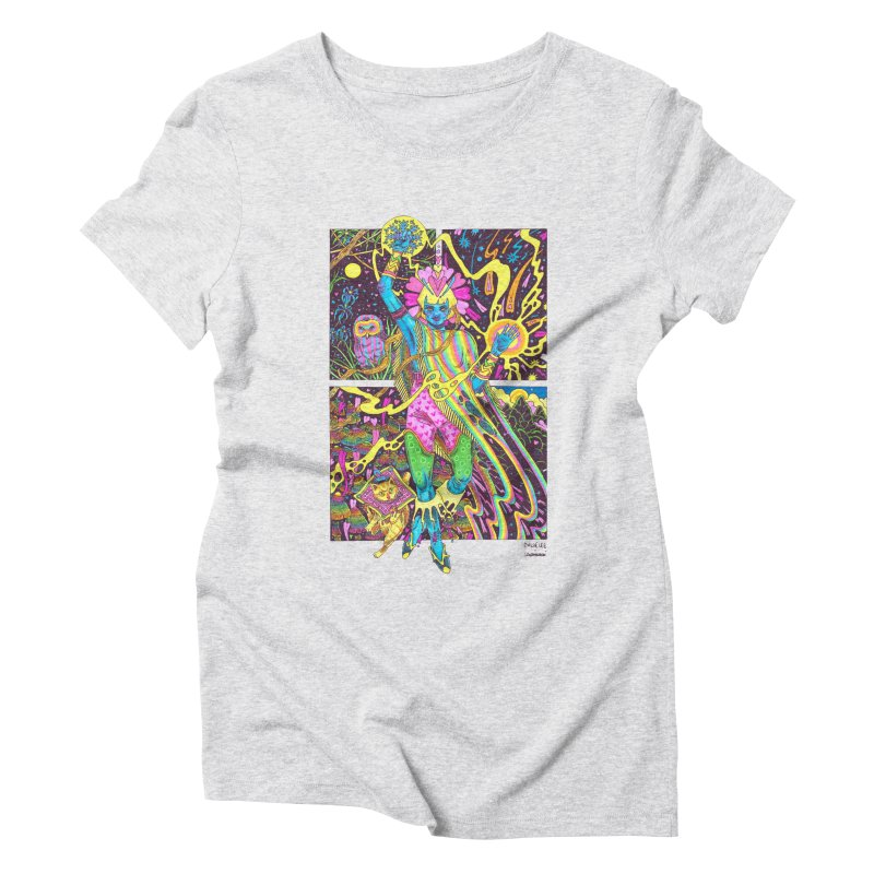 Goddess of Nature COLLAB Women's Triblend T-Shirt by Chloe Lee