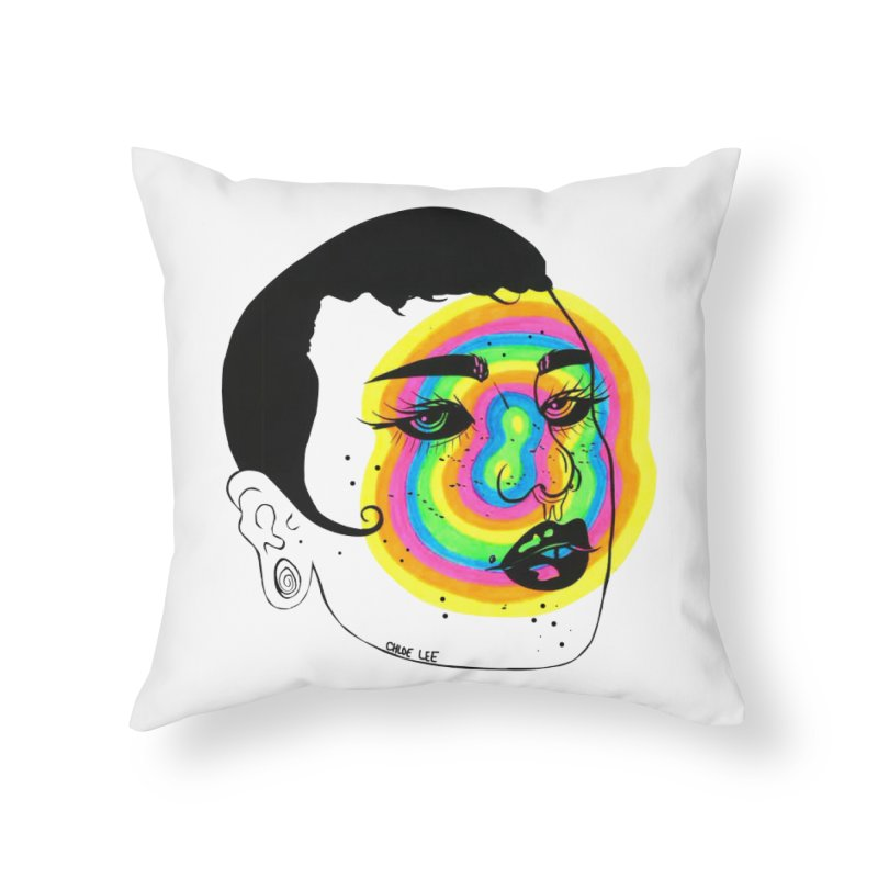 Shorty Home Throw Pillow by Chloe Lee
