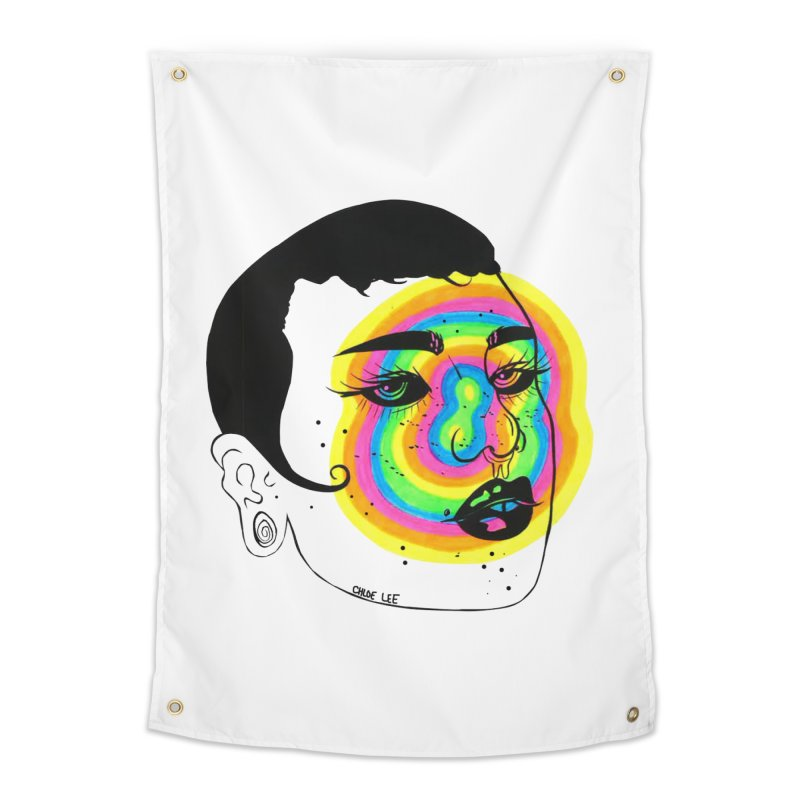 Shorty Home Tapestry by Chloe Lee