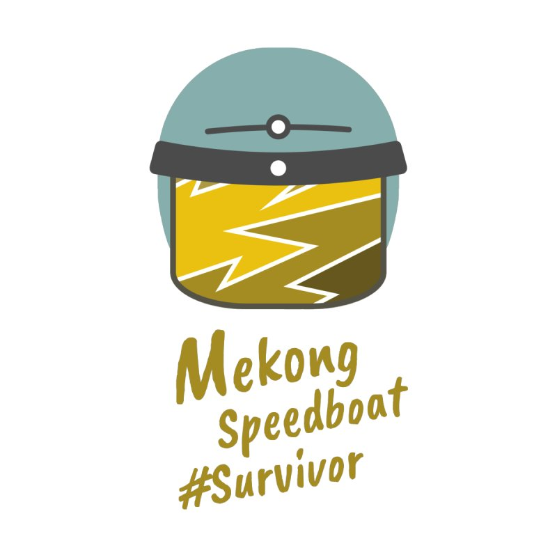 Mekong Speedboat Survivor Women's T-Shirt by BeyondMekong | Inspired by SEA Wanderlust