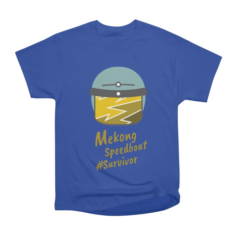 Mekong Speedboat Survivor Women's Classic Unisex T-Shirt by BeyondMekong | Inspired by SEA Wanderlust