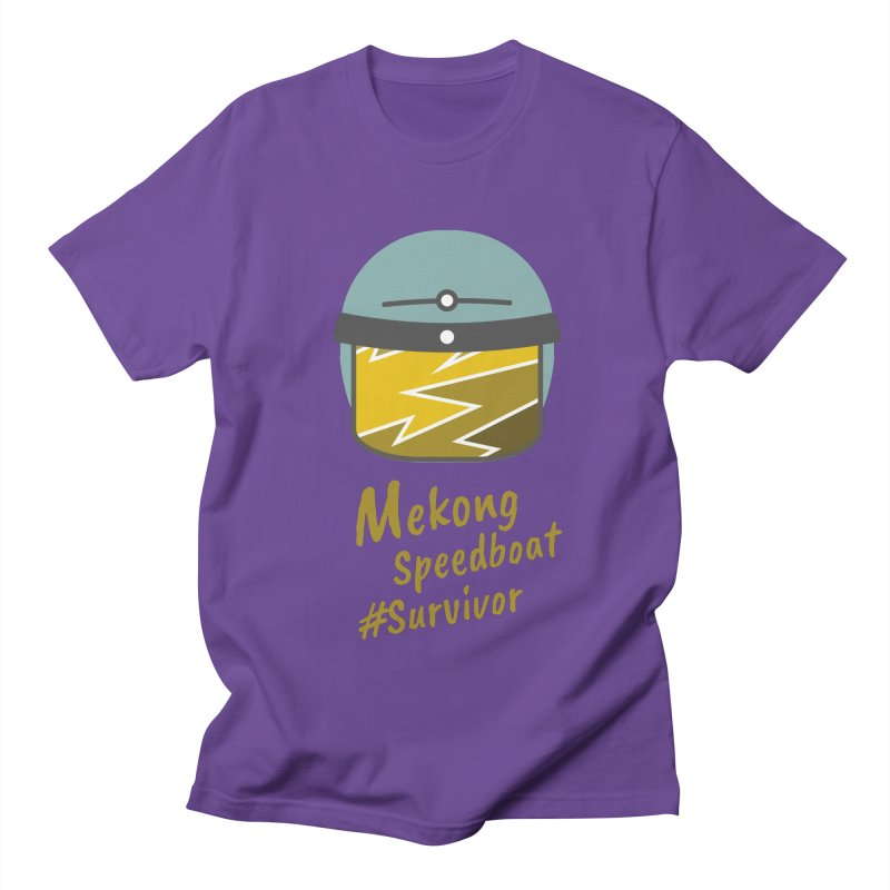 Mekong Speedboat Survivor Men's T-Shirt by BeyondMekong | Inspired by SEA Wanderlust