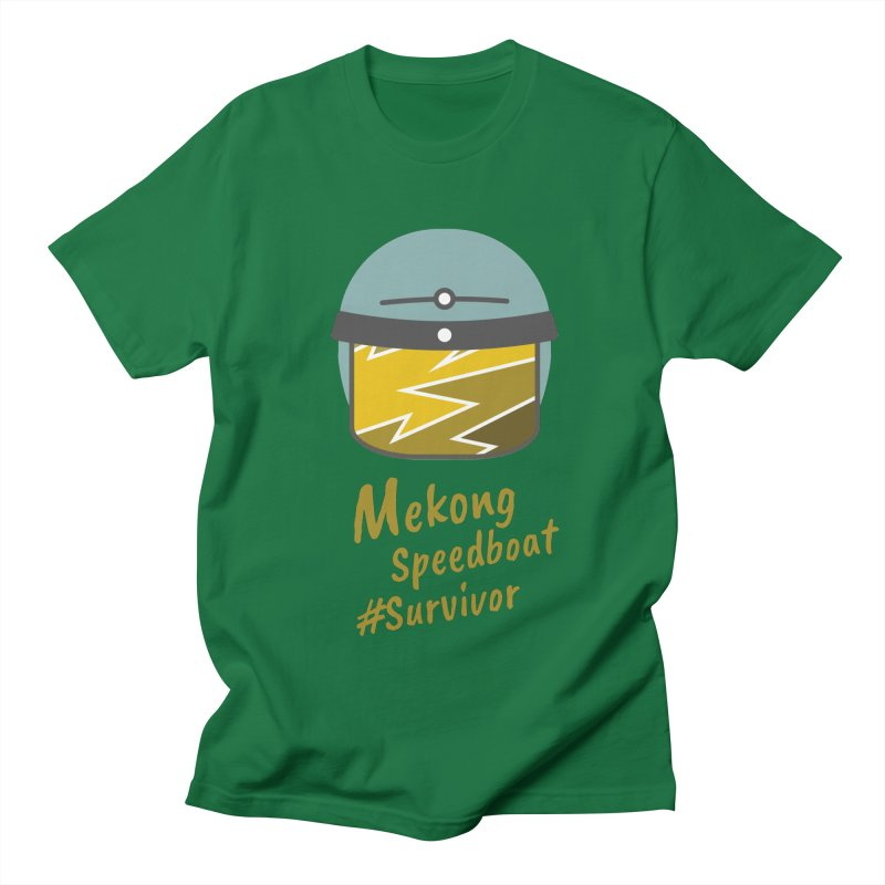 Mekong Speedboat Survivor Men's Regular T-Shirt by BeyondMekong | Inspired by SEA Wanderlust