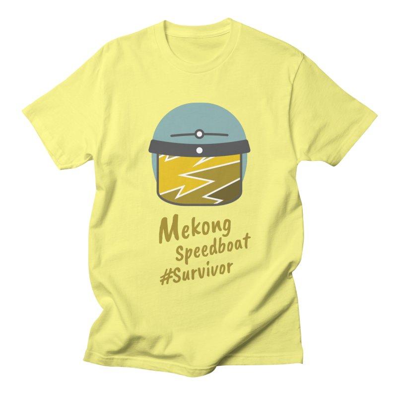 Mekong Speedboat Survivor Men's T-Shirt by BeyondMekong | Inspired by SEA Wanderlust
