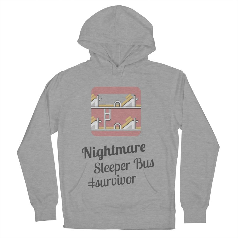 Nightmare Sleeper Bus Women's French Terry Pullover Hoody by BeyondMekong | Inspired by SEA Wanderlust