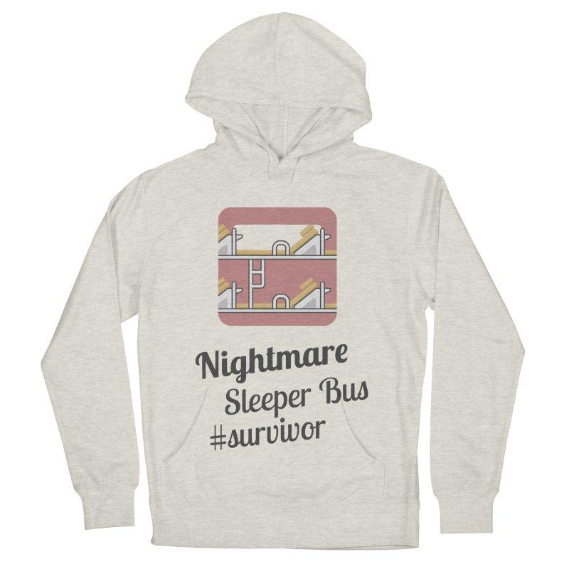 Nightmare Sleeper Bus Women's Pullover Hoody by BeyondMekong | Inspired by SEA Wanderlust