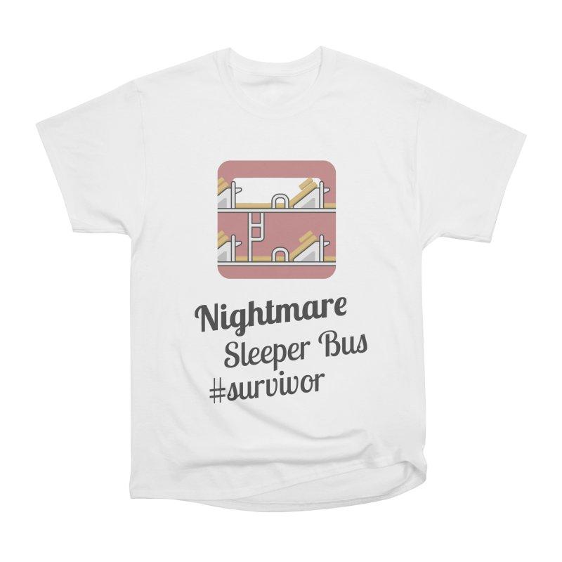 Nightmare Sleeper Bus Women's Classic Unisex T-Shirt by BeyondMekong | Inspired by SEA Wanderlust