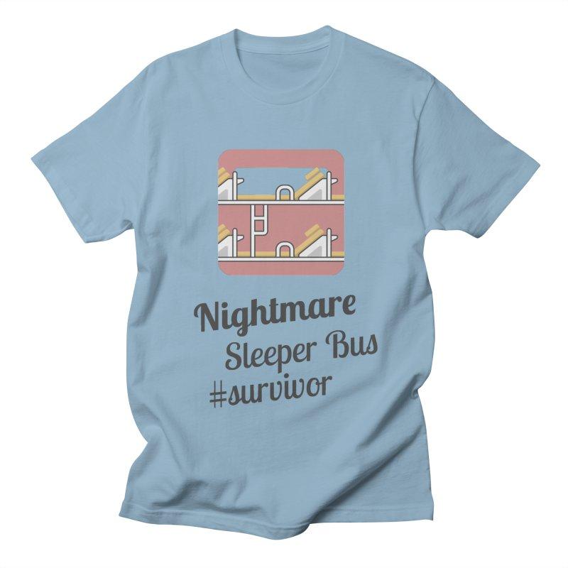 Nightmare Sleeper Bus Men's Regular T-Shirt by BeyondMekong   Inspired by SEA Wanderlust
