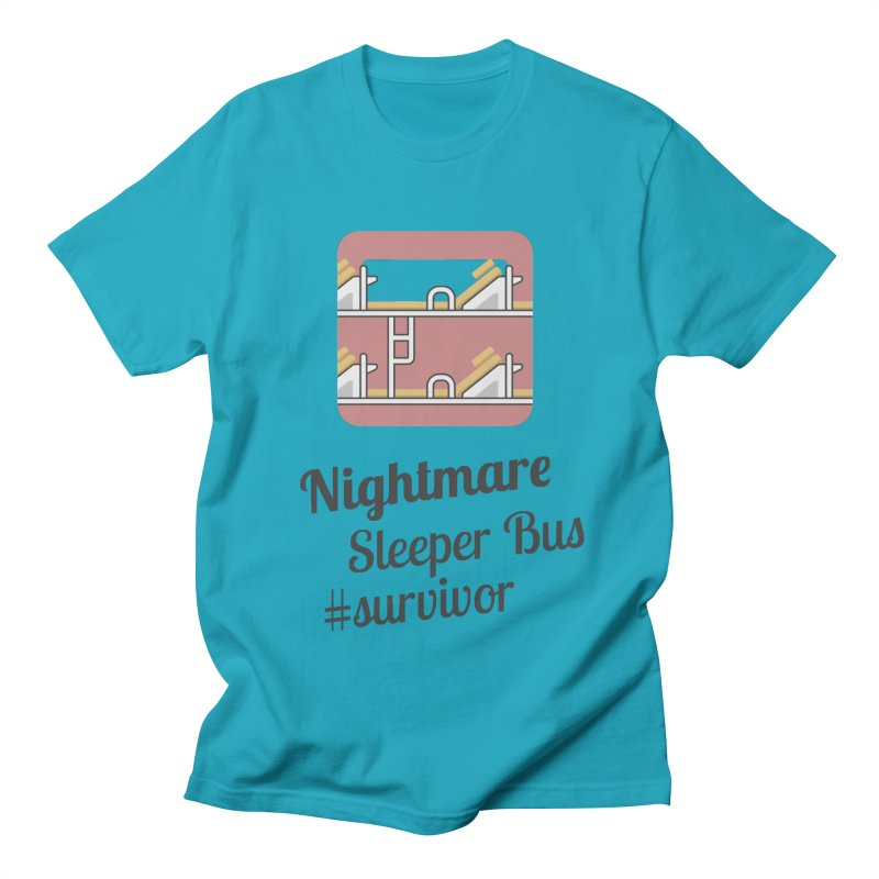 Nightmare Sleeper Bus Men's T-Shirt by BeyondMekong | Inspired by SEA Wanderlust