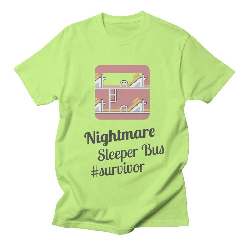 Nightmare Sleeper Bus Men's Regular T-Shirt by BeyondMekong | Inspired by SEA Wanderlust