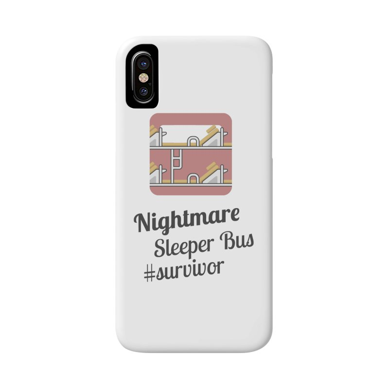 Nightmare Sleeper Bus Accessories Phone Case by BeyondMekong | Inspired by SEA Wanderlust