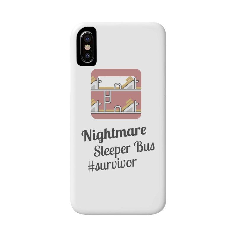 Nightmare Sleeper Bus Accessories Phone Case by BeyondMekong | Inspired by SEA Wanderlust