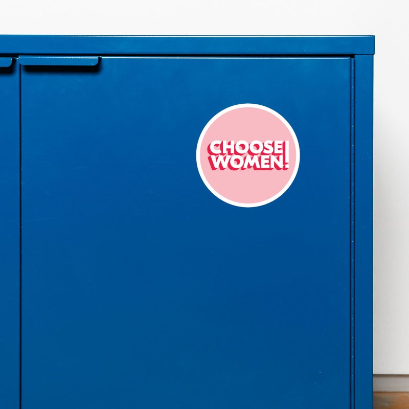 Pink Accessories Magnet by choosewomen's Artist Shop