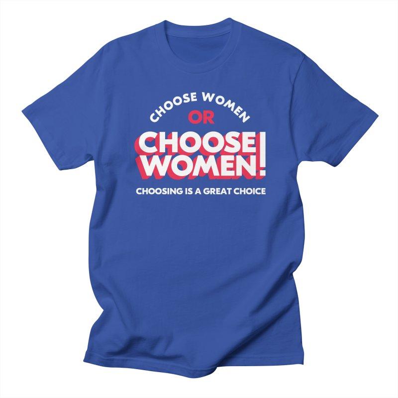 Blue in Men's Regular T-Shirt Royal Blue by choosewomen's Artist Shop