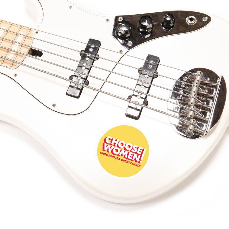 Yellow Accessories Sticker by choosewomen's Artist Shop
