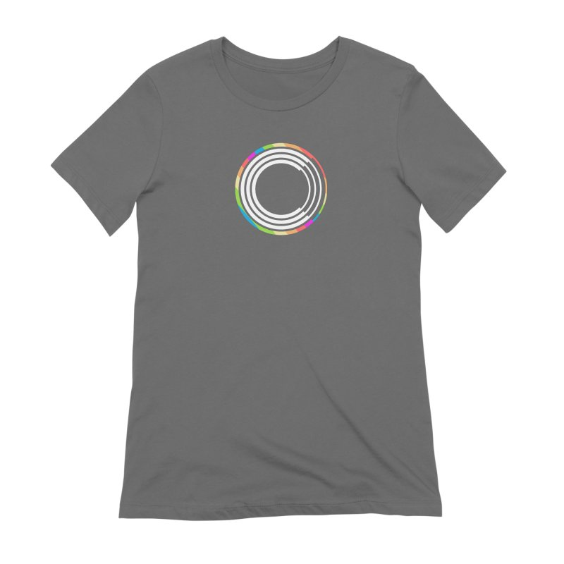 Chorus.fm Pride Logo Women's Extra Soft T-Shirt by Chorus.fm Shop