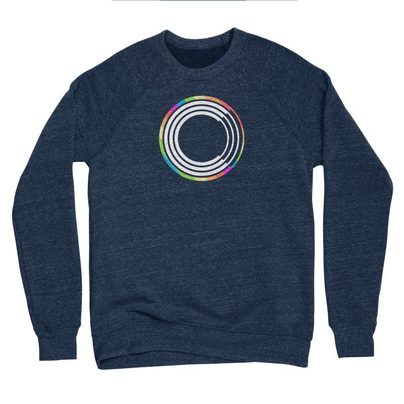 Chorus.fm Pride Logo Men's Sponge Fleece Sweatshirt by Chorus.fm Shop