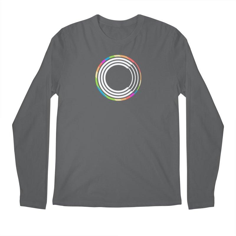 Chorus.fm Pride Logo Men's Longsleeve T-Shirt by Chorus.fm Shop