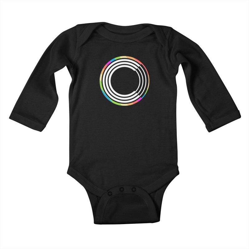 Chorus.fm Pride Logo Kids Baby Longsleeve Bodysuit by Chorus.fm Shop