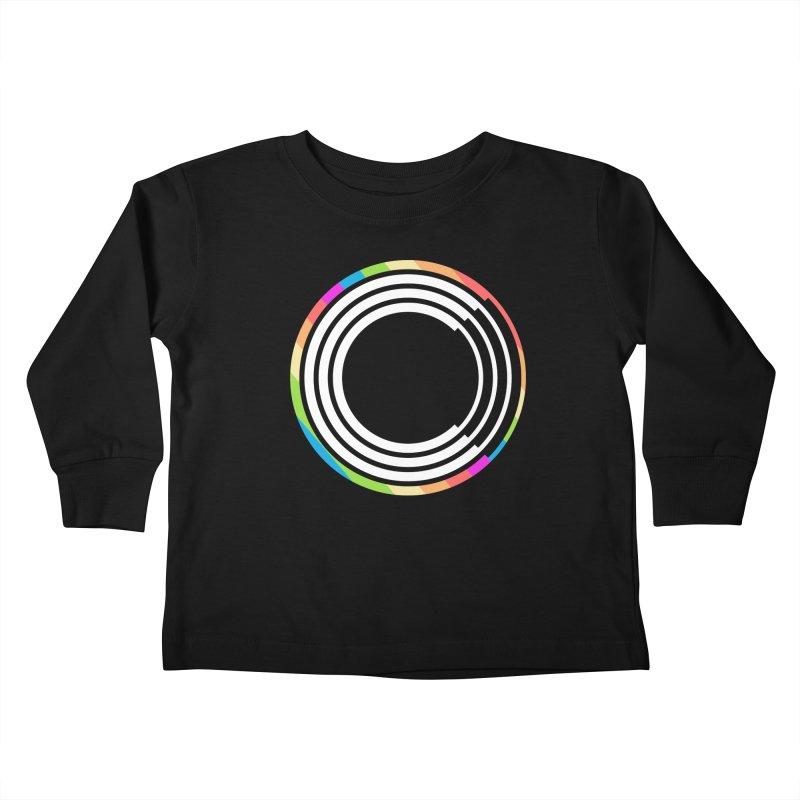 Chorus.fm Pride Logo Kids Toddler Longsleeve T-Shirt by Chorus.fm Shop