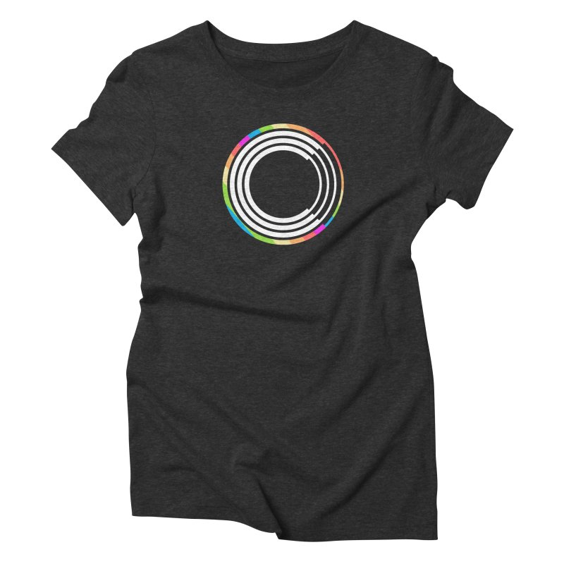 Chorus.fm Pride Logo Women's Triblend T-Shirt by Chorus.fm Shop