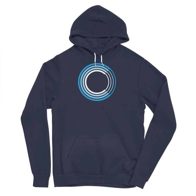 Chorus.fm Full Color Logo (Centered) Men's Sponge Fleece Pullover Hoody by Chorus.fm Shop