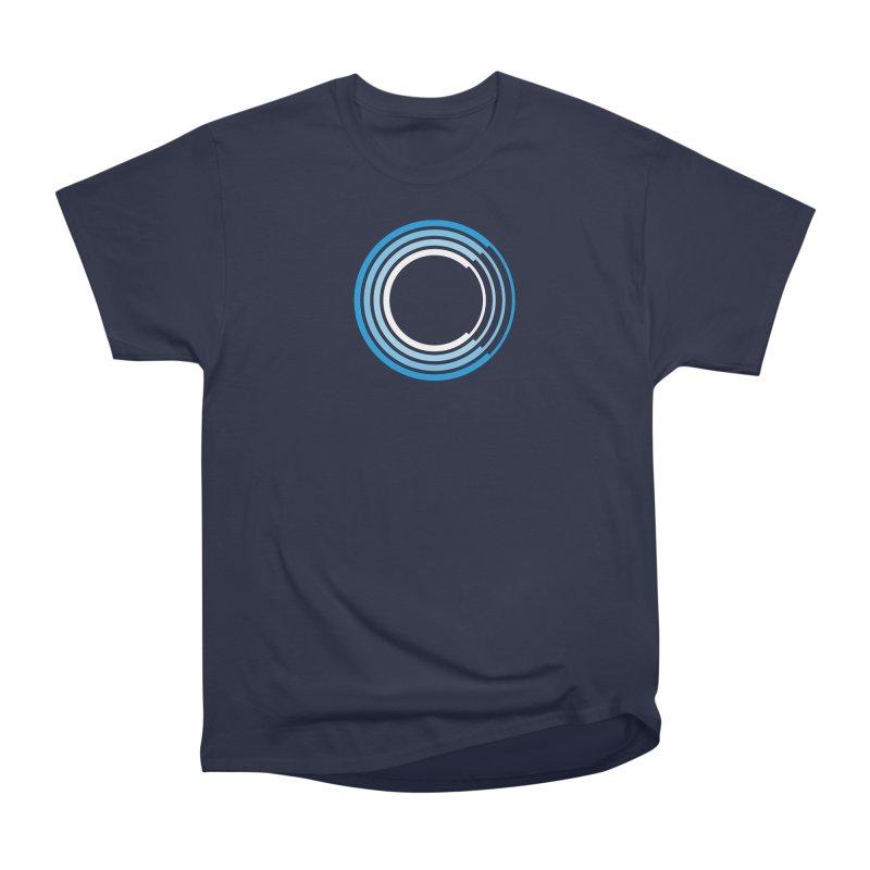 Chorus.fm Full Color Logo (Centered) Men's Heavyweight T-Shirt by Chorus.fm Shop