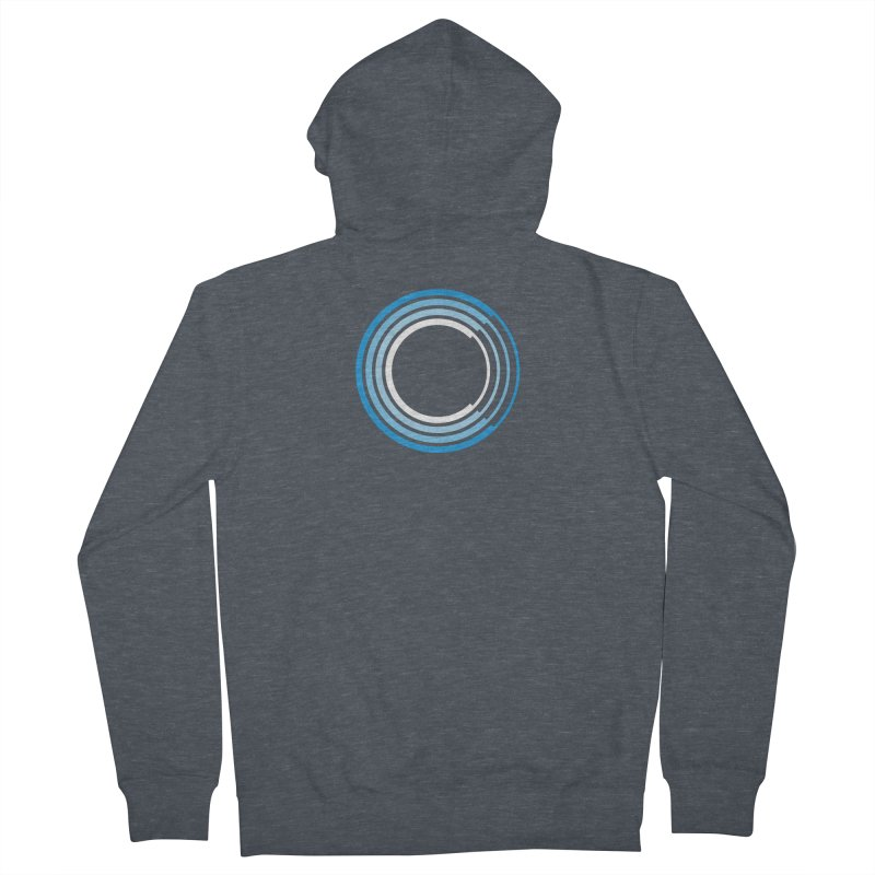 Chorus.fm Full Color Logo (Centered) Women's French Terry Zip-Up Hoody by Chorus.fm Shop